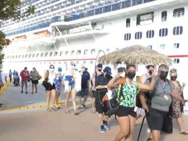 Honduras: llegan casi 3 mil cruceristas a Roatán, Honduras, en reanudación de la industria en medio del covid