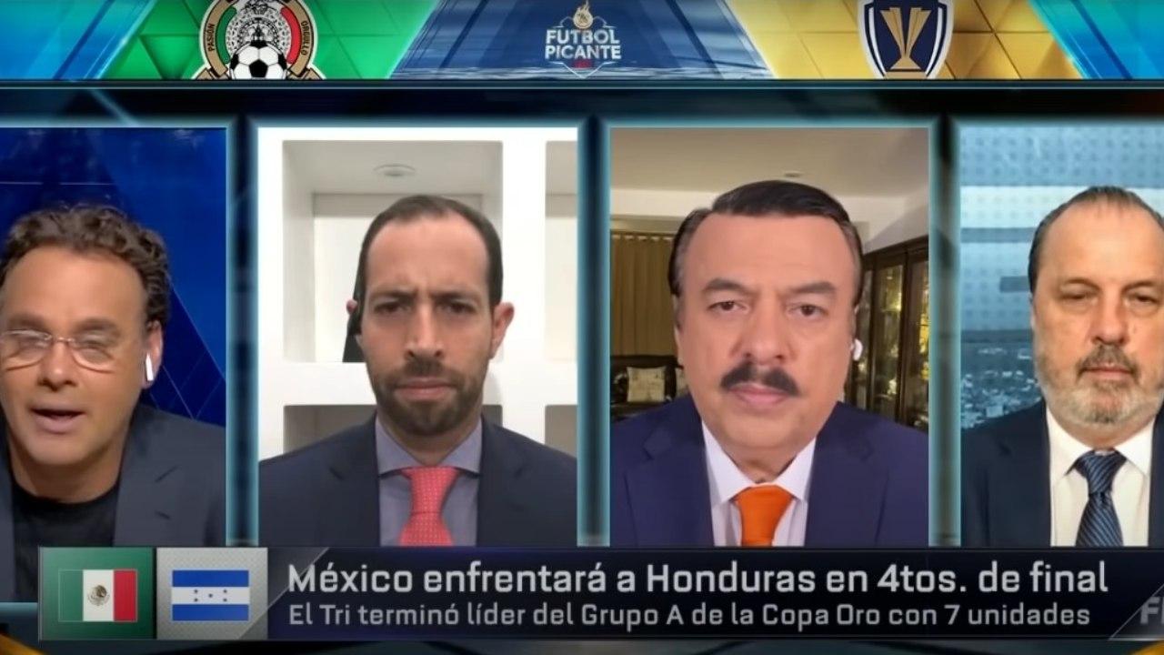 Los periodistas mexicanos comenzaron a encender el duelo de cuartos de final entre la Selección de Honduras y México; mira todo lo que dijeron