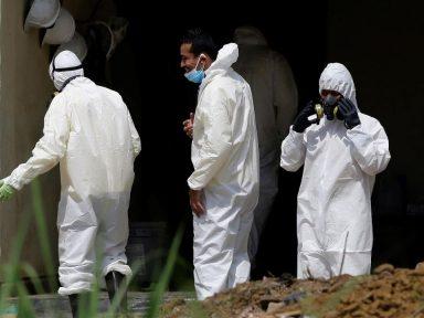 Concluye recuperación de cuerpos en casa de expolicía asesino en El Salvador; 14 cuerpos fueron recuperados