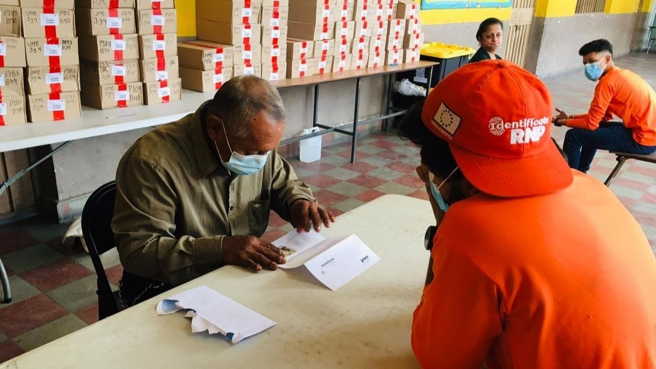 A la fecha se han enrolado más de 5.1 millones de hondureños de los que al menos la mitad ya tiene su nuevo DNI