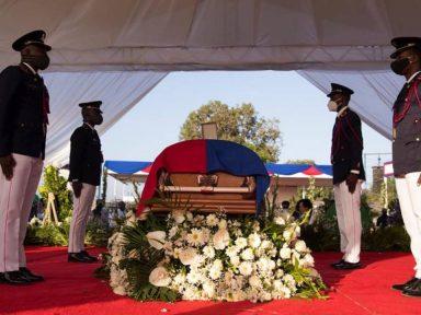 Comienza velatorio de Jovenel Moise, el presidente de Haití asesinado hace dos semanas