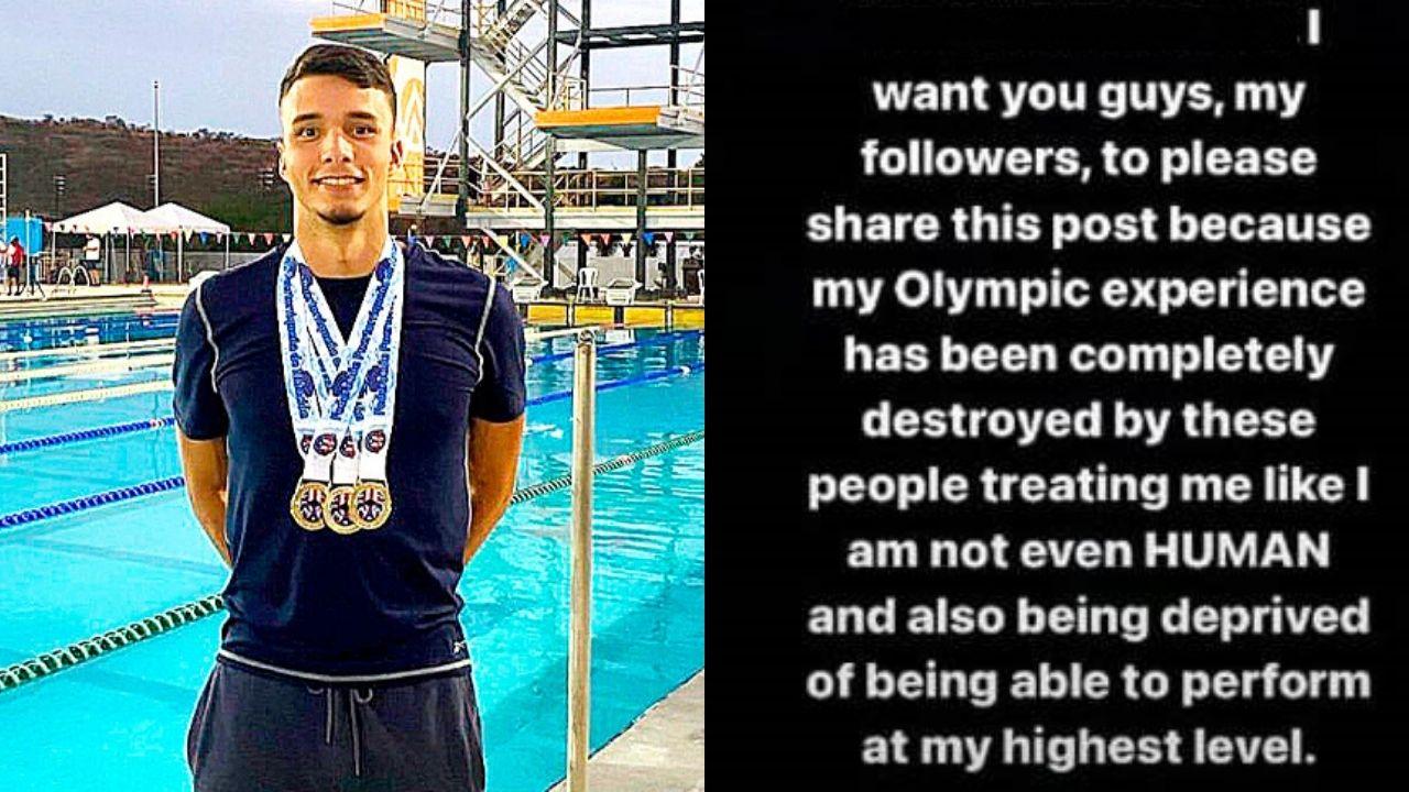 """""""Mi experiencia Olímpica ha sido completamente destruida por esta gente como si no fuese humano"""", aseguró Julio Horrego"""