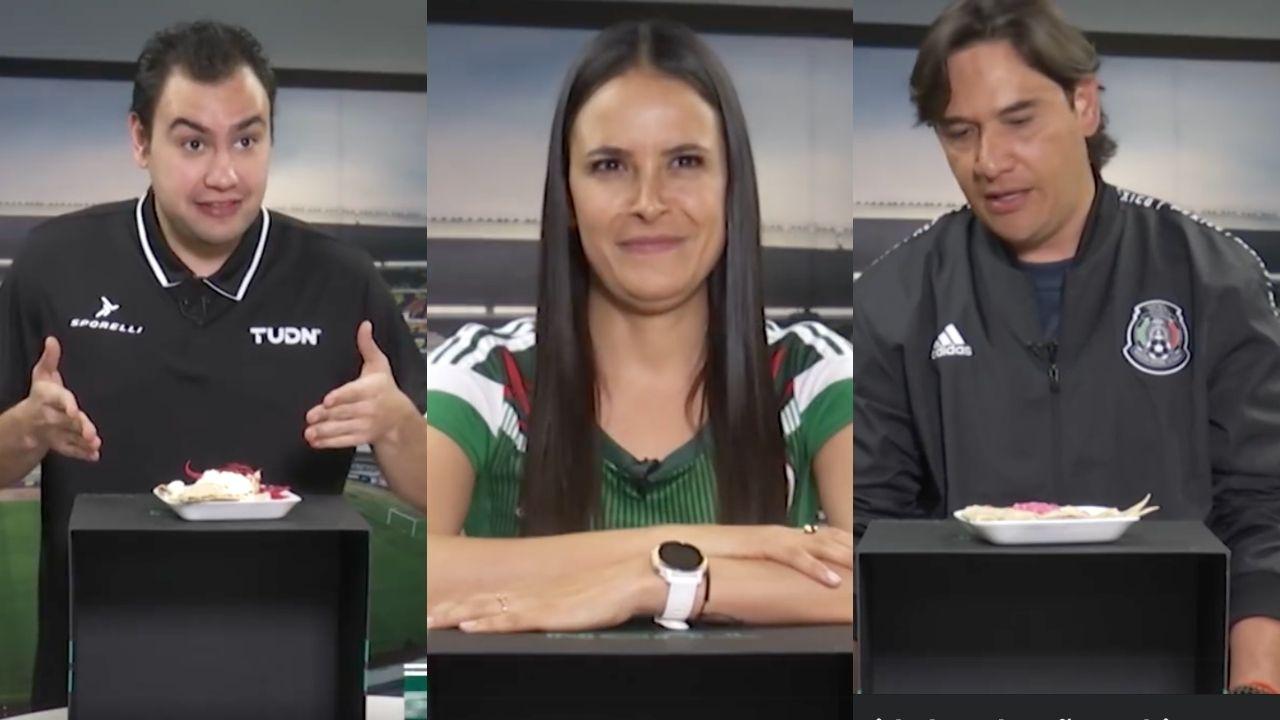 De cara al Honduras vs. México en Copa Oro, estos presentadores mexicanos decidieron probar comida catracha, pero no a todos les gustó. ¡Mira sus caras!
