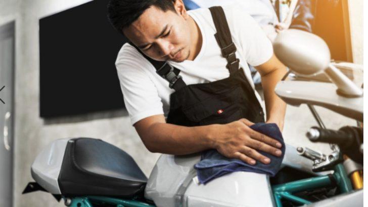 ¿Cómo asegurar la durabilidad de la pintura de tu moto?