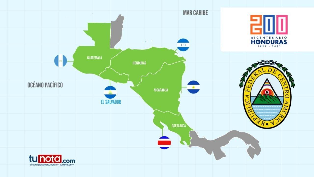 Cinco países centroamericanos formaron en sus inicios una sola nación, conozca las razones que los condujo a separarse