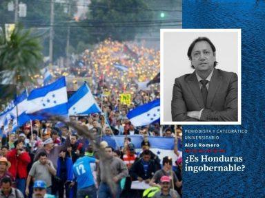 ¿Es Honduras ingobernable?