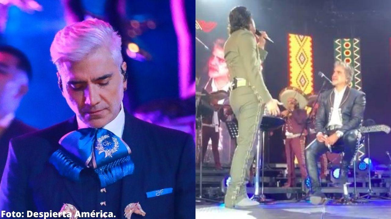 Alejandro y Alex Fernández se presentaron juntos por primera vez en concierto y emocionaron al público con su amor de padre e hijo