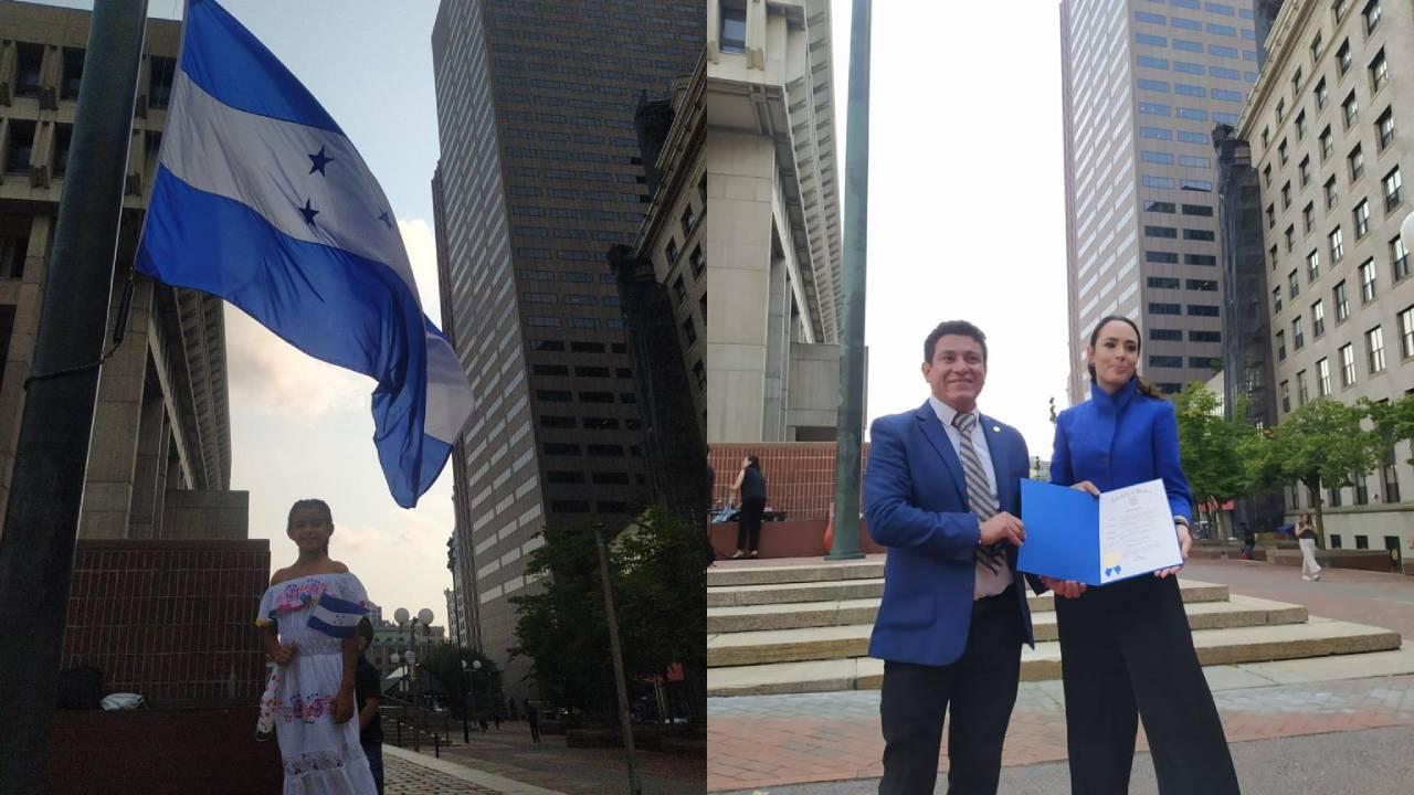 El consulado de Honduras en Boston celebró el Bicentenario de Independencia con un llamado a la unidad de la comunidad catracha