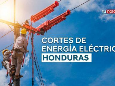 ¿Qué zonas de Honduras no tendrán energía eléctrica el martes 21 de septiembre?