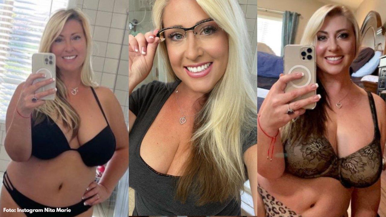 A parte de OnlyFans, la mujer cristiana también sube fotos no menos sexis en otras redes sociales, aquí las imágenes