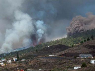 Las impactantes imágenes que dejó la erupción del volcán Cumbre Vieja en las Islas Canarias, España