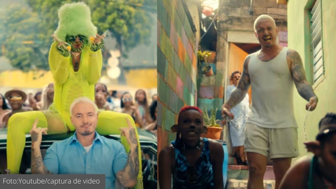 La canción tiene una letra explícita, donde se ven bailarines disfrazados como perros y actuando como ellos; llamó la atención la actuación de las mujeres