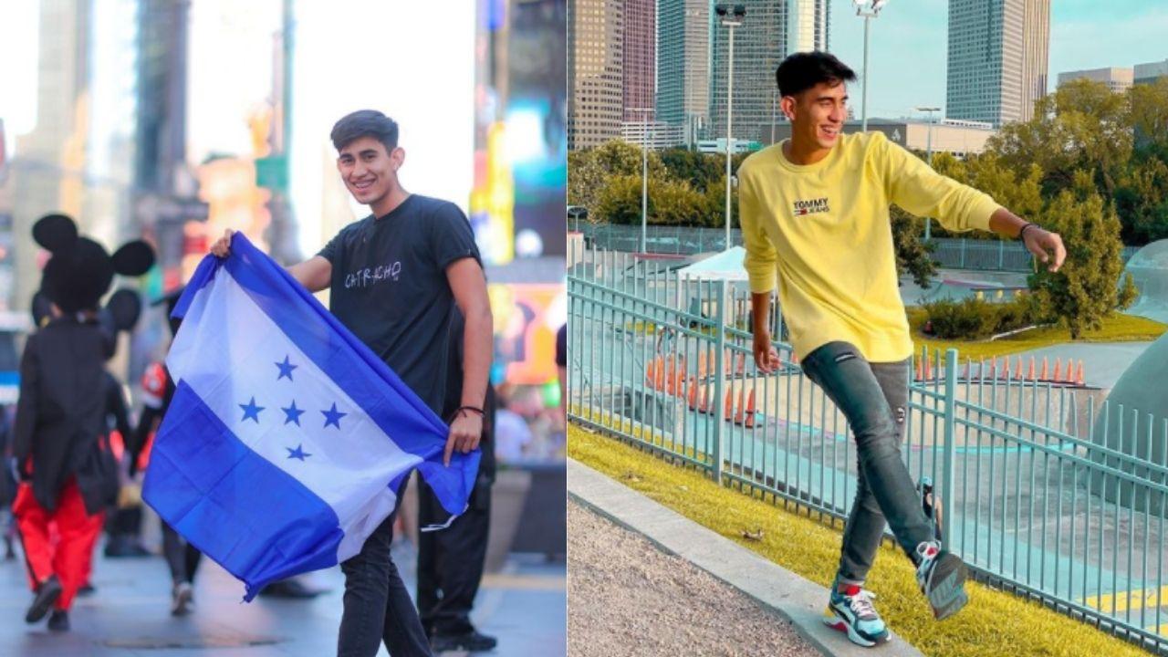 'Soy una persona que siempre está luchando por lo que quiere'; el joven hondureño talentoso crece como la espuma en sus redes sociales