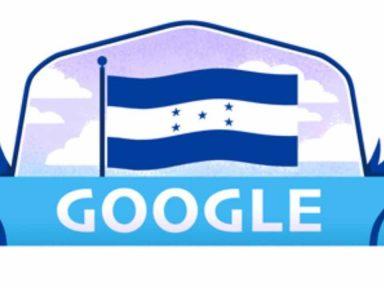Así celebró Google el Bicentenario de Independencia de Honduras
