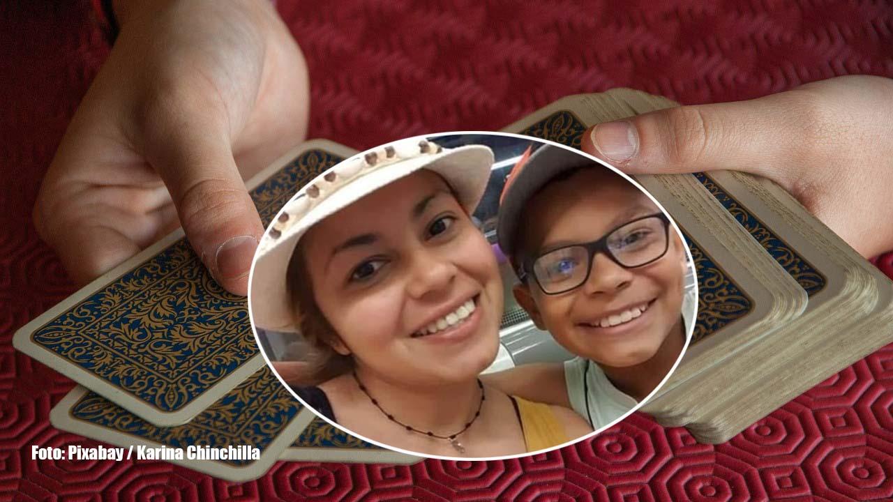 En una lectura de cartas, la supuesta tarotista, aseguró que el menor está muerto, sin embargo, Karina Chinchilla respondió a las crudas palabras de la mujer