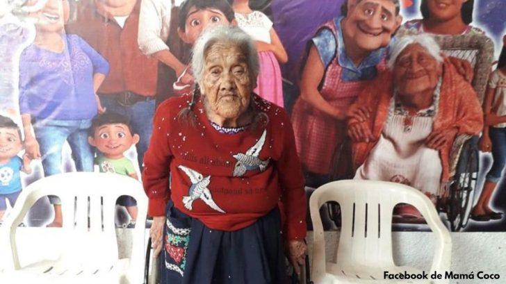 Abuela famosa por su parecido con 'Mamá Coco' cumple 108 años en Michoacán
