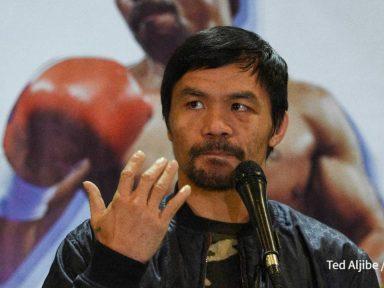 Boxeador Manny Pacquiao buscará la presidencia de Filipinas en elecciones de 2021