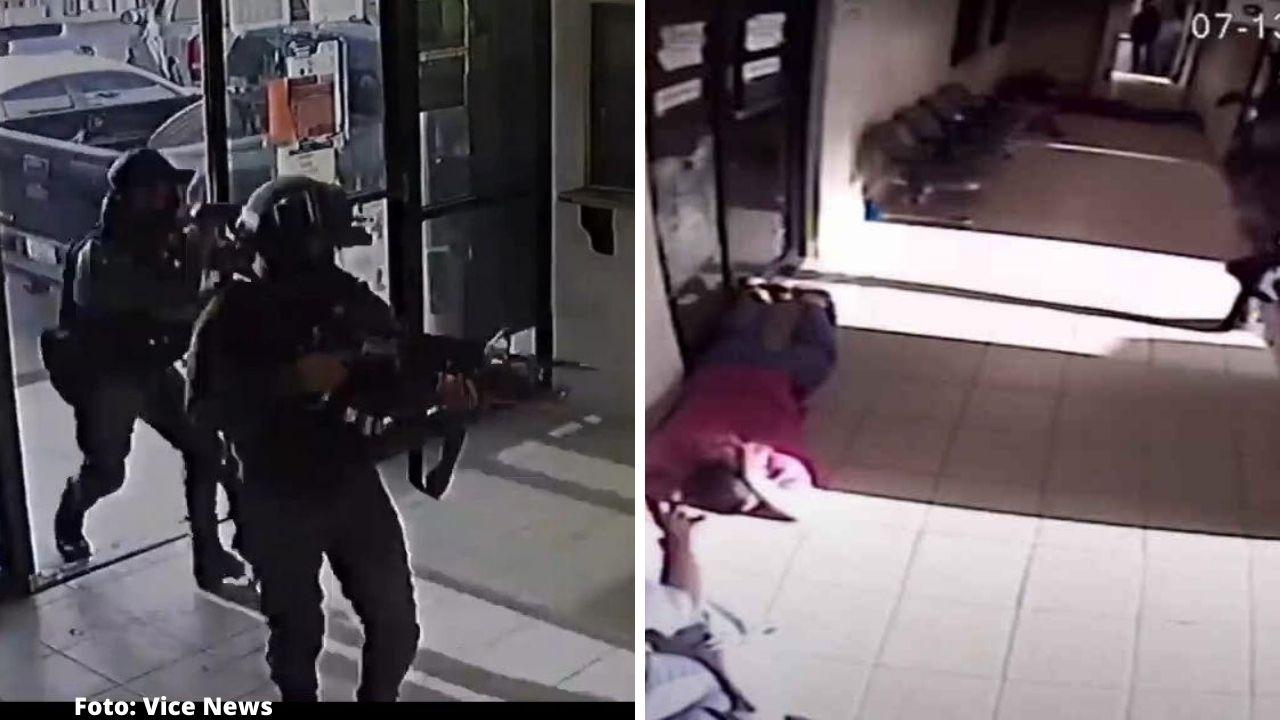 Mira cómo un video deja ver la presunta vinculación de los asaltantes con las fuerzas del orden por la facilidad que sacan de la celda a un supuesto narco