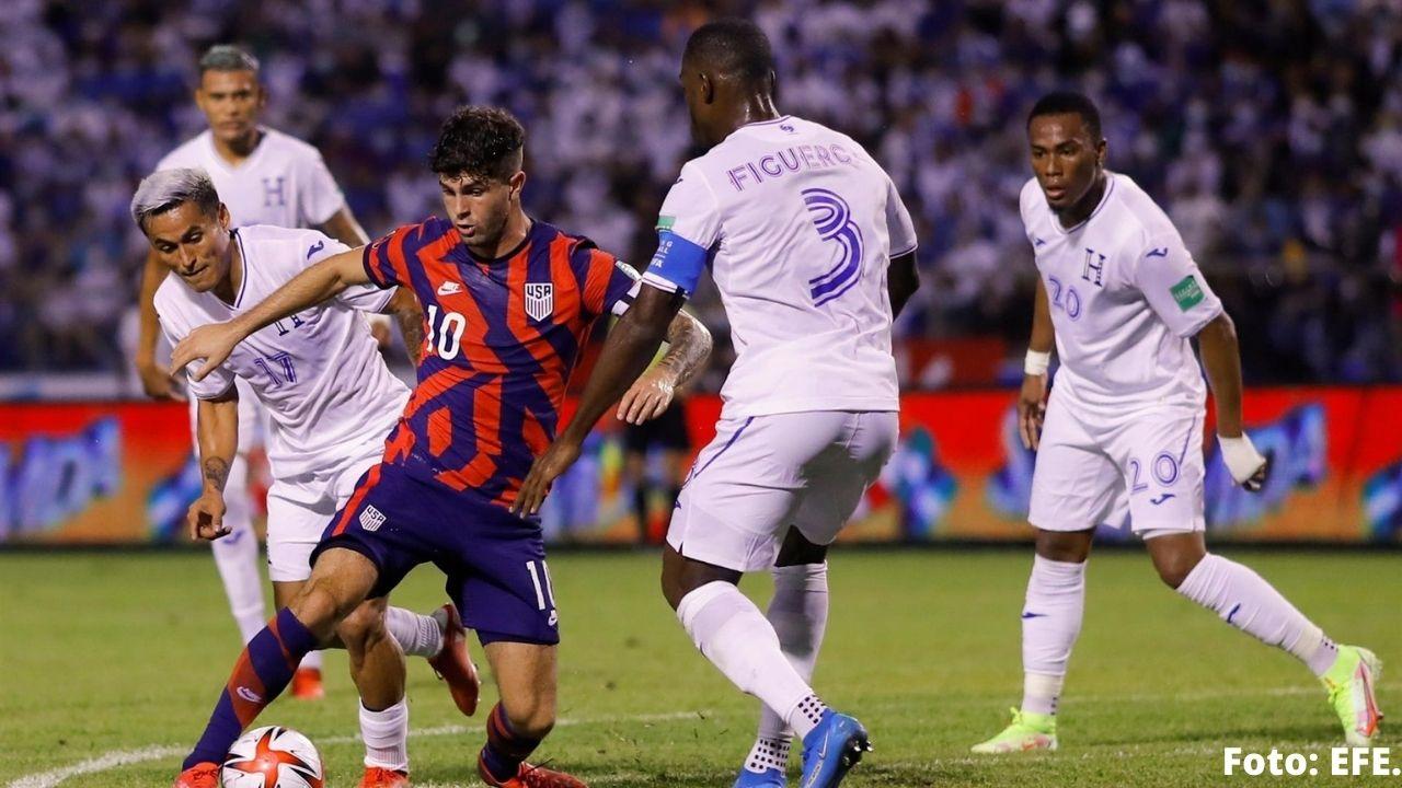 Honduras lleva una derrota y dos empates y así se posicionó en la tabla de posiciones de la Concacaf rumbo a Qatar 2022