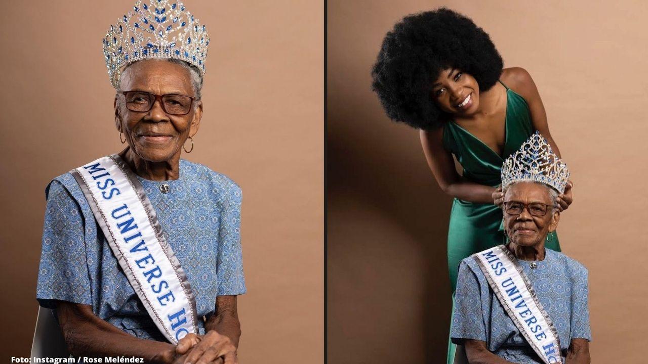La hermosa joven de Miss Honduras Universo compartió con sus seguidores unas conmovedores fotografías con su abuela, que la ha acompañado desde siempre
