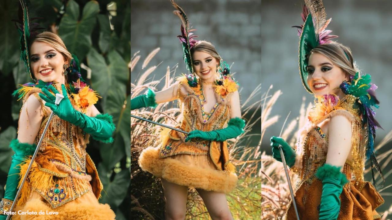 Aquí las fotos de la bella modelo hondureña luciendo el original traje de palillona, inspirado en el Colibrí Esmeralda para el Bicentenario de Independencia