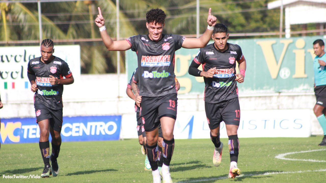 Aquí la crónica del partido que el Vida de La Ceiba le ganó por goleada 4-1 al Platense de Puerto Cortés en la fecha 8 del Apertura de la Liga Nacional