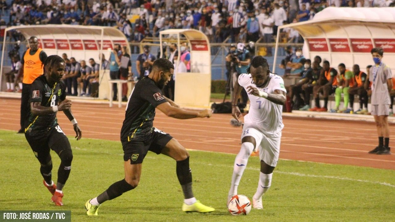 Lea el relato del partido entre las selecciones de Honduras y Jamaica y actualización de resultados de los otros juegos eliminatorios de Concacaf
