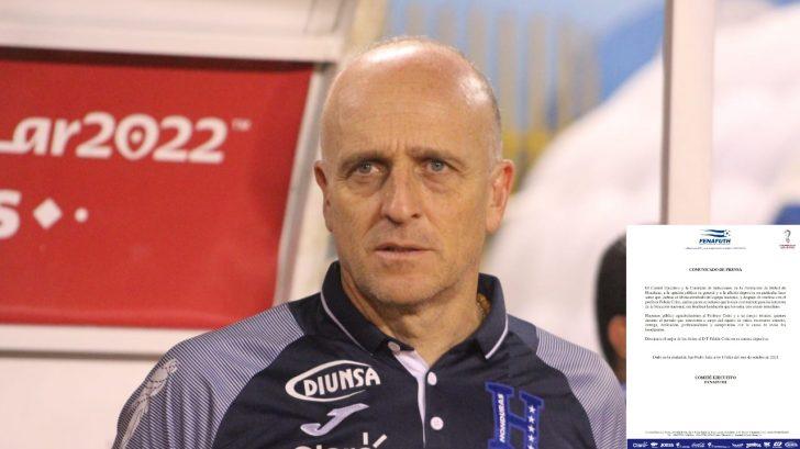 Fenafuth oficializa salida de Fabián Coito de la Selección de Honduras