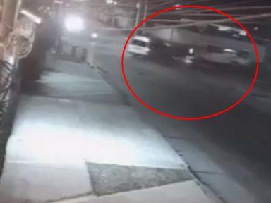 ¡Impactante! Cámaras de seguridad captan triple colisión en San Pedro Sula