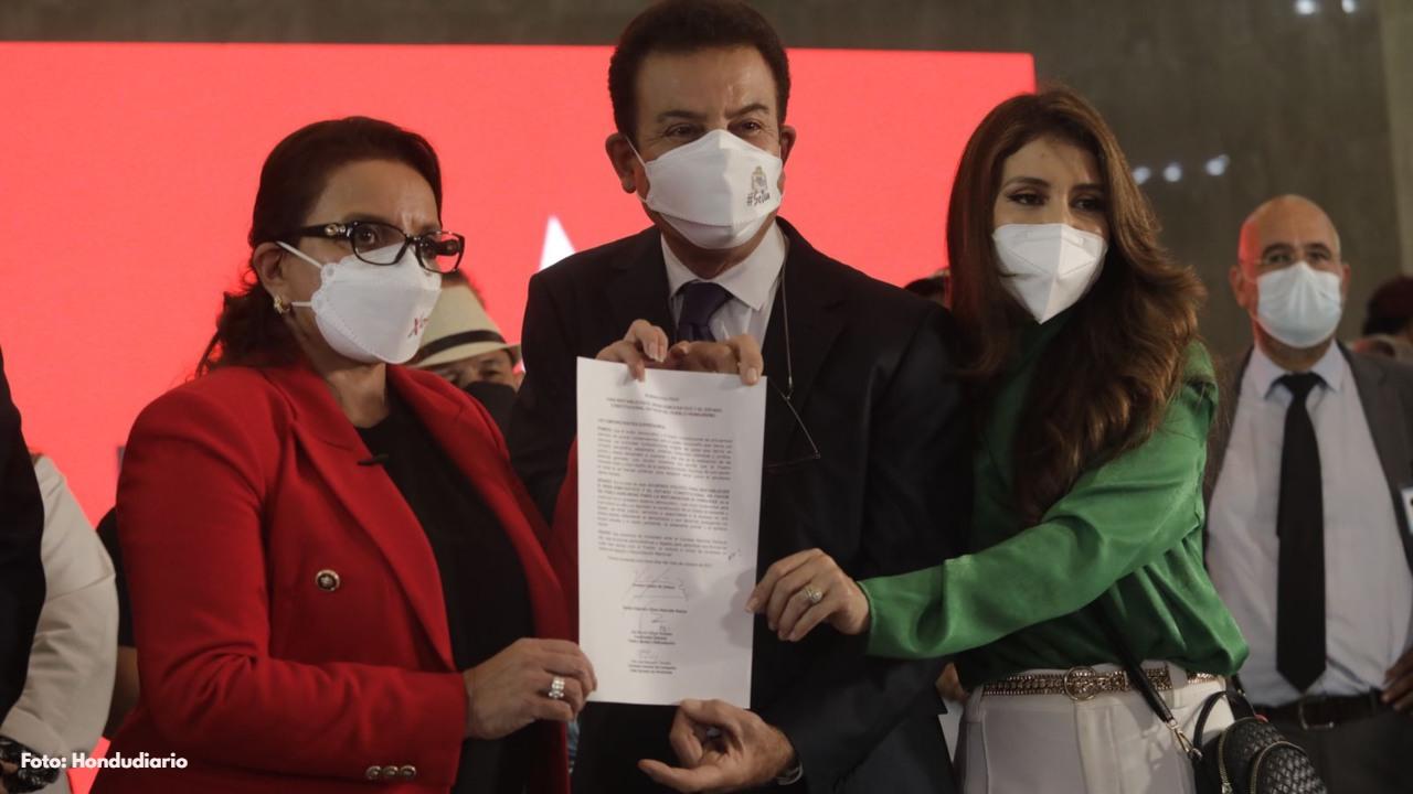 Estas han sido las reacciones de algunos líderes políticos tras la alianza entre Salvador Nasralla y Xiomara Castro de Zelaya.
