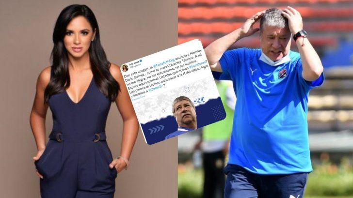 'A mí no me alegra'; la reacción de Ana Jurka ante la llegada del Bolillo Gómez a la Selección de Honduras