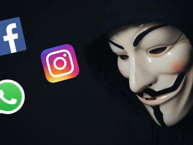 ¿Podría estar Anonymous detrás de la caída de Facebook, Instagram y WhatsApp?