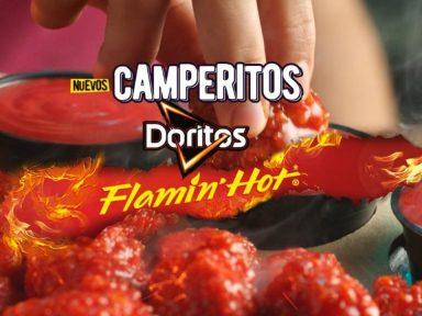 Tiernos, jugosos y extra picantes ¿Te atreves a comer los nuevos camperitos Flamin Hot?