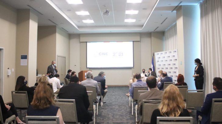 Autoridades del CNE exponen ante el G-16 avances del proceso electoral