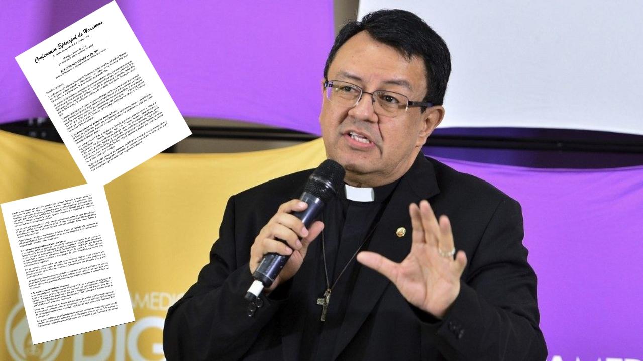 """La Conferencia Episcopal señaló que """"Honduras no merece que votes por aquellos que quieren destruirla y buscar ganar las elecciones a como de lugar"""""""