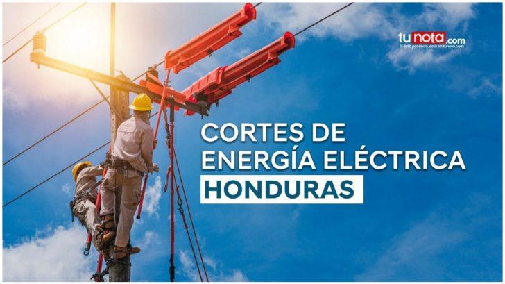 Sábado y domingo sin luz: barrios y colonias de Honduras estarán sin electricidad por más de 8 horas