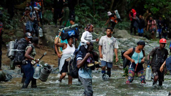 Coyote hondureño fue detenido con 15 haitianos y una brasileña rumbo a Estados Unidos