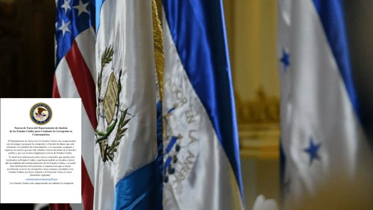 Estados Unidos define nueva línea para combatir corrupción en Guatemala, Honduras y El Salvador