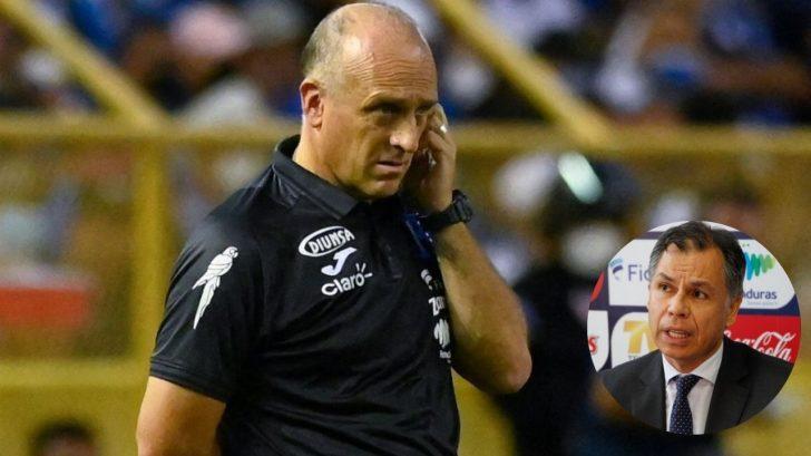 ¡Respaldo total! José Ernesto Mejía, secretario de Fenafuth, confirma que Fabián Coito continuará como técnico de La H