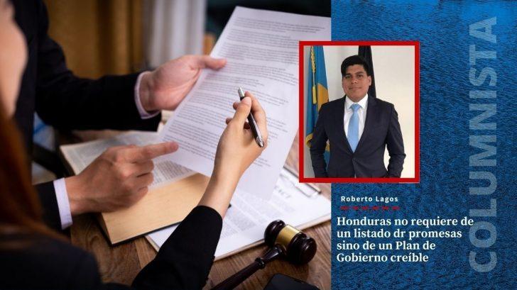 El País no requiere de un listado de promesas sino de un Plan de Gobierno creíble