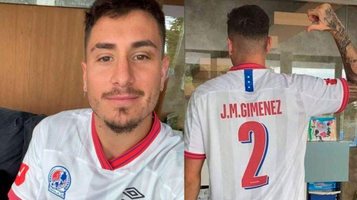 José María Giménez responde a hondureños si jugaría en el Olimpia de Honduras