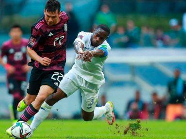 Honduras cae 3-0 ante México y se hunde en la eliminatoria de Concacaf