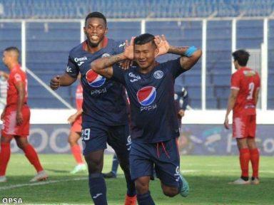 Motagua golea a la Real Sociedad y le mete presión al Vida por el liderato