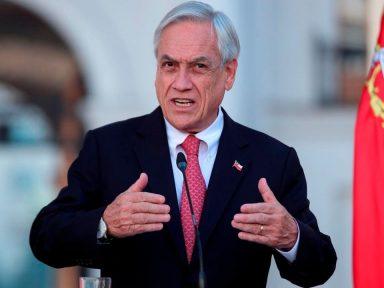 Presidente de Chile: 'Tengo plena confianza en que la Justicia confirmará mi inocencia'