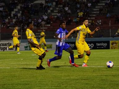 La máquina del Real España pita en La Ceiba y vence 2-0 al Victoria