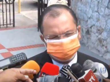 'Estoy en las manos de Jesucristo', Reynaldo Ekónomo al presentarse a audiencia de declaración de imputado