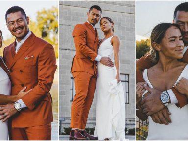 ¡Espectacular! Roger Espinoza comparte románticas fotos de su boda con una futbolista estadounidense
