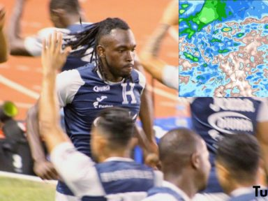 ¿Lloverá en San Pedro Sula durante el encuentro de Honduras-Costa Rica por la eliminatoria a Qatar 2022?