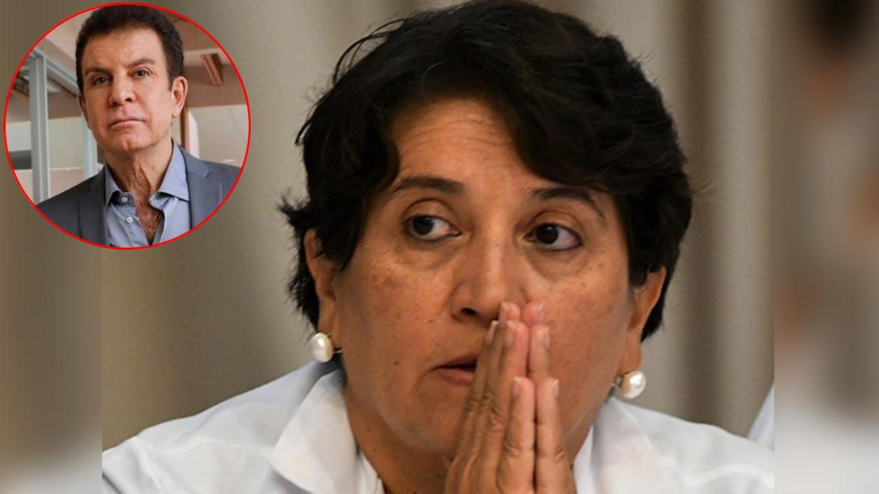 """La presidenta del CMH, Suyapa Figueroa aseguró también que le da """"mucho pesar haber escogido tan mal"""" en su primera participación política"""