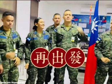 Miembros de las Fuerzas Armadas de Honduras se viralizan tras cantar en mandarín desde Taiwán